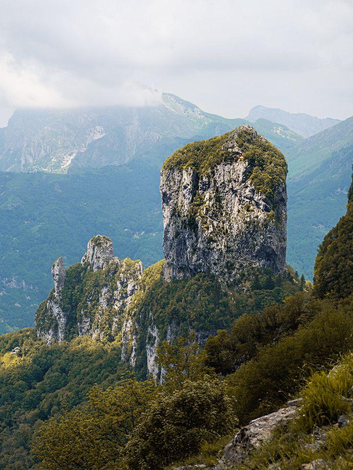 Monte Procinto - Vista dal Callare di Matanna | Alpi Apuane