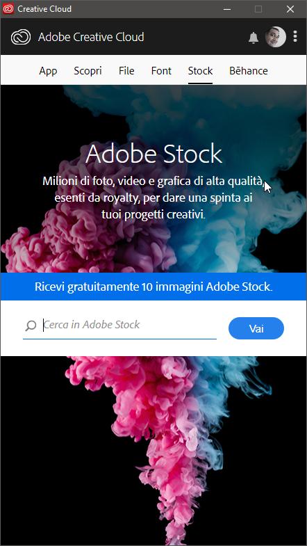 Adobe Creative Cloud – Applicazione Desktop