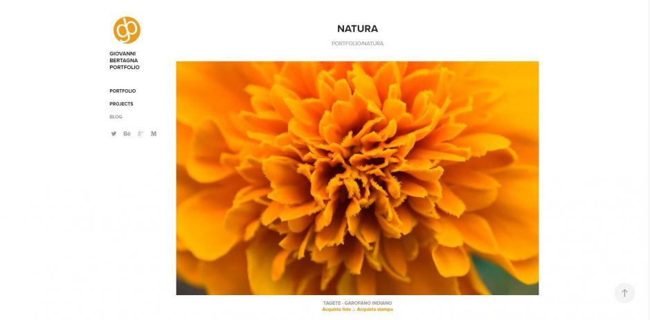 Portfolio Fotografico - Adobe Portfolio - foto singola
