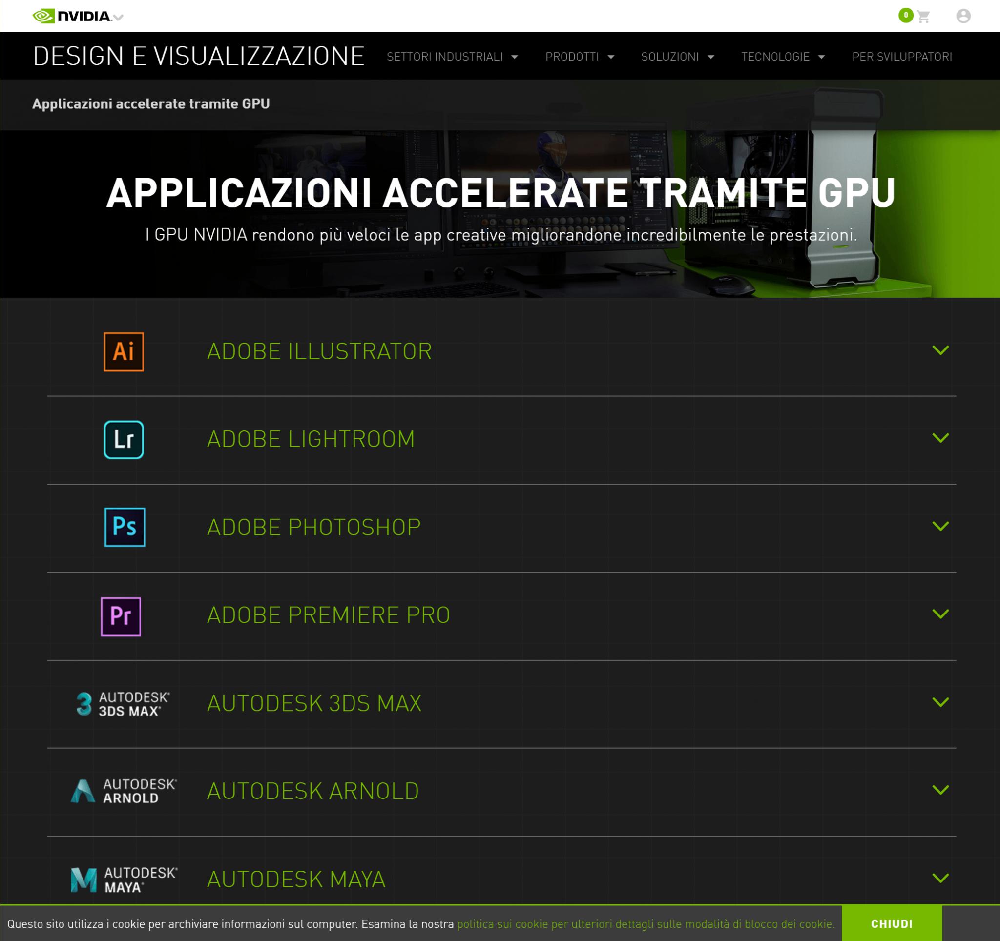 GEFORCE EXPERIENCE - Applicazioni accelerate dalla GPU NVIDIA