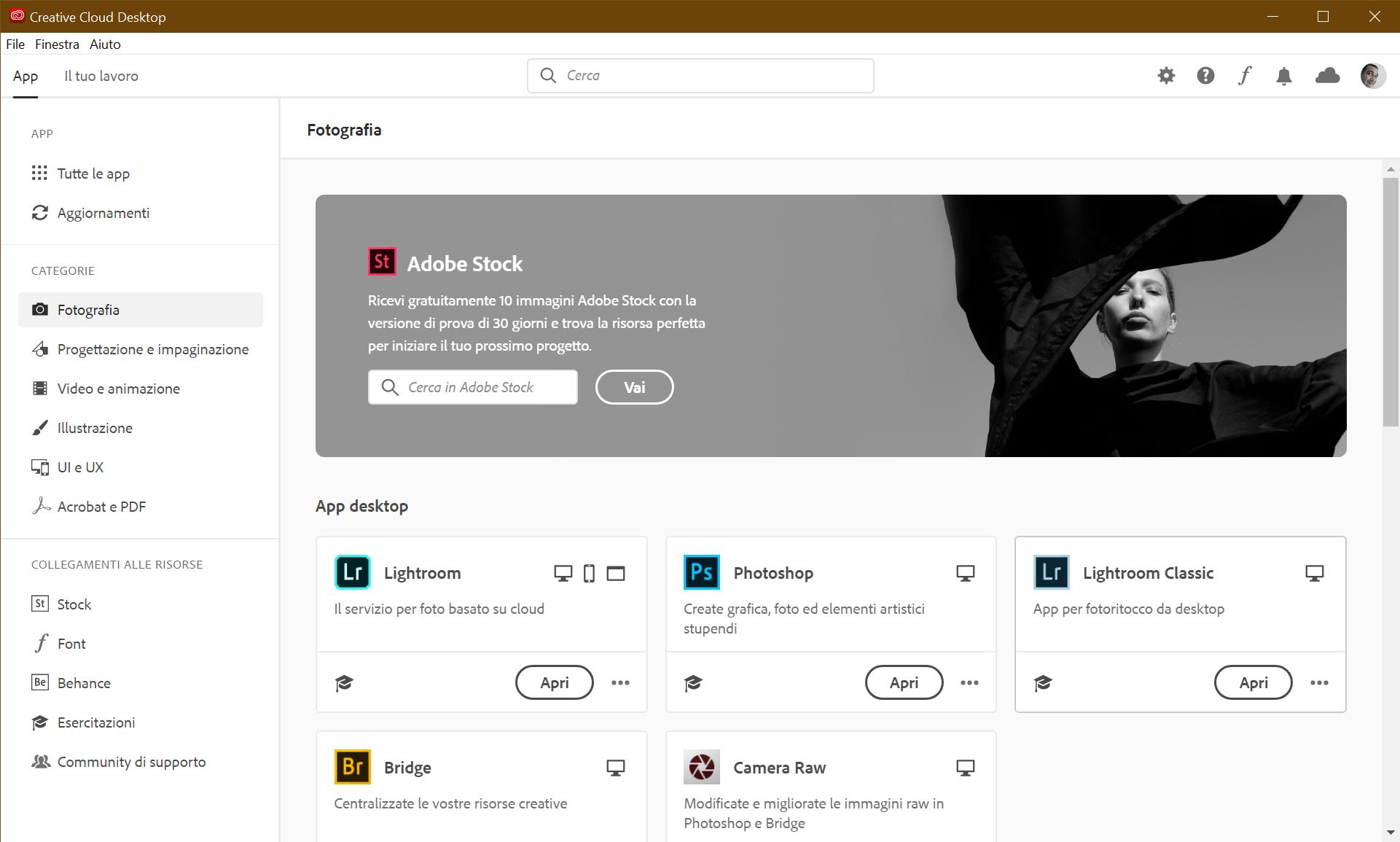 Creative Cloud Desktop