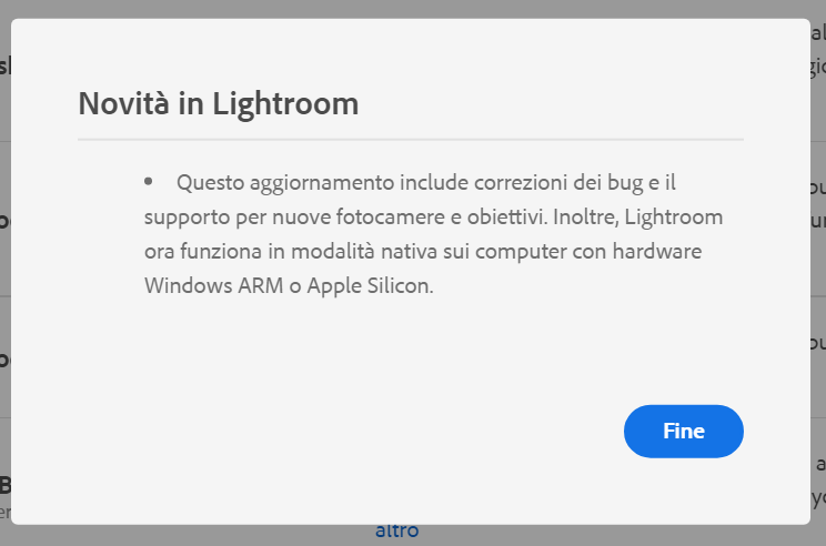 Lightroom supporta Windows ARM e Apple Silicon
